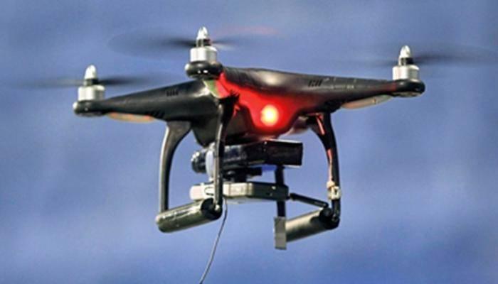 How can an electronic circuit be designed like an unmanned aerial vehicle?